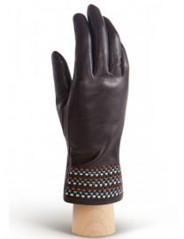 Перчатки женские 100% шерсть IS819 black/it (Eleganzza)