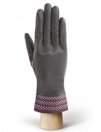 Перчатки женские 100% шерсть IS819 grey/rose (Eleganzza)