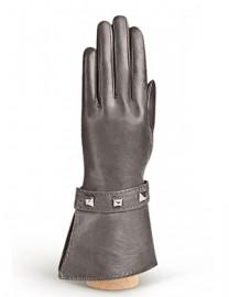 Перчатки женские 100% шерсть IS849 d.grey (Eleganzza)