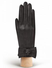 Перчатки женские 100% шерсть IS897 black (Eleganzza)