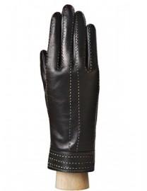 Перчатки женские 100% шерсть IS901 black (Eleganzza)