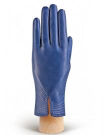 Перчатки женские 100% шерсть IS903 d.blue (Eleganzza)