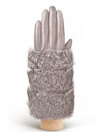 Перчатки женские 100% шерсть IS929 l.grey (Eleganzza)
