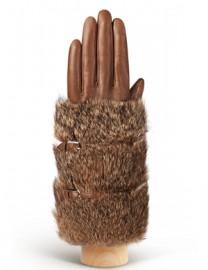 Перчатки женские 100% шерсть IS929 l.taupe (Eleganzza)
