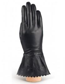 Перчатки женские 100% шерсть IS943 black (Eleganzza)