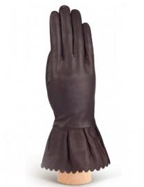 Перчатки женские 100% шерсть IS943 brown (Eleganzza)