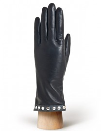 Перчатки женские 100% шерсть IS973 black (Eleganzza)
