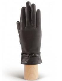 Перчатки женские 100% шерсть IS975 black (Eleganzza)