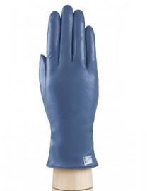 Перчатки женские 100% шерсть IS990 d.blue (Eleganzza)