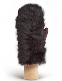 Перчатки женские 100% шерсть IS991 d.brown (Eleganzza)
