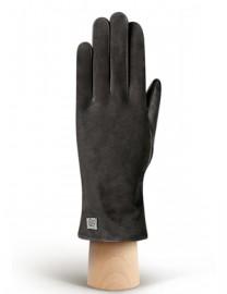Перчатки женские 100% шерсть IS992 black (Eleganzza)