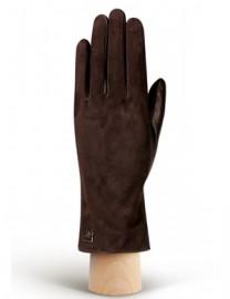 Перчатки женские 100% шерсть IS992 d.brown (Eleganzza)