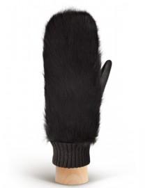 Перчатки женские 100% шерсть IS995 black (Eleganzza)