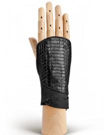 Перчатки женские без пальцев 260 black (Eleganzza)