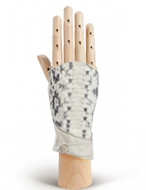 Перчатки женские без пальцев 260 white (Eleganzza)