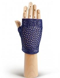 Перчатки женские без пальцев 279 violetblue (Eleganzza)