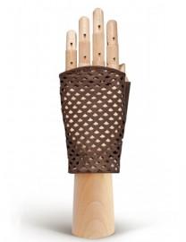Перчатки женские без пальцев 280 l.taupe (Eleganzza)