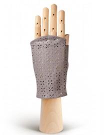 Перчатки женские без пальцев 360 l.grey (Eleganzza)