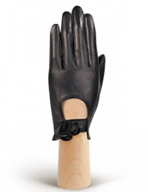 Перчатки женские без пальцев HP02020 black (Eleganzza)