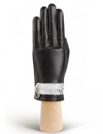 Перчатки женские без пальцев HP290 black/white (Eleganzza)