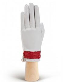 Перчатки женские без пальцев HP290 white/tomat (Eleganzza)