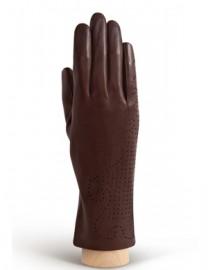Перчатки женские без пальцев HP61 d.brown (Eleganzza)