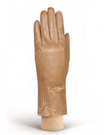 Перчатки женские без пальцев HP61 l.brown (Eleganzza)