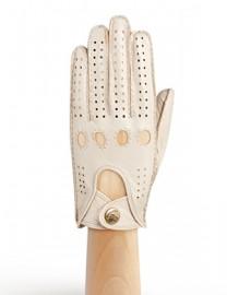 Перчатки женские без пальцев HS011W beige (Eleganzza)