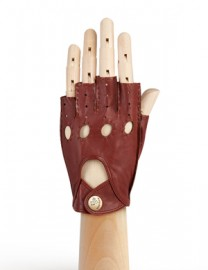 Перчатки женские без пальцев HS012W luggage (Eleganzza)