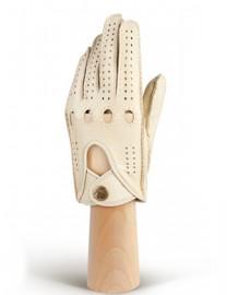Перчатки женские без пальцев HS101W beige (Eleganzza)