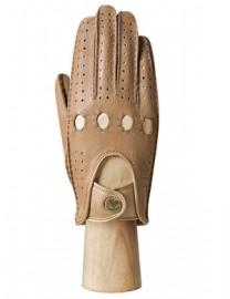 Перчатки женские без пальцев HS101W camel (Eleganzza)