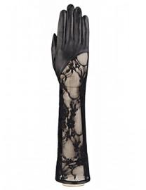 Перчатки женские без пальцев IS01075 black (Eleganzza)