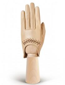 Перчатки женские без пальцев IS02001 beige (Eleganzza)