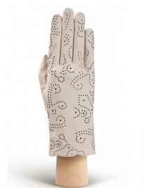 Перчатки женские без пальцев IS076 beige (Eleganzza)