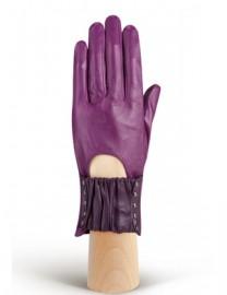 Перчатки женские без пальцев IS1008 d.violet (Eleganzza)