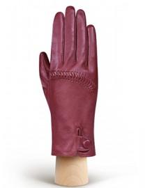 Перчатки женские без пальцев IS327 cranberry (Eleganzza)