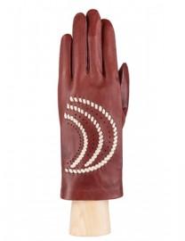 Перчатки женские без пальцев IS391 luggage/beige (Eleganzza)