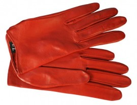 Перчатки женские без пальцев IS41 red (Eleganzza)