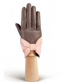 Перчатки женские без пальцев IS48 warm grey/pink (Eleganzza)