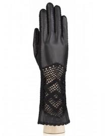 Перчатки женские без пальцев IS76020 black (Eleganzza)