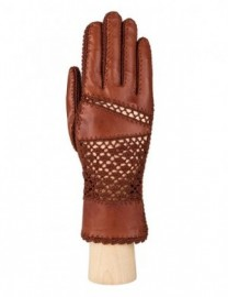 Перчатки женские без пальцев IS76022 luggage (Eleganzza)