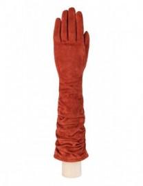 Перчатки женские длинные (шерсть и кашемир) IS02010 luggage (Eleganzza)