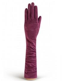 Перчатки женские длинные (шерсть и кашемир) IS02010 merlot (Eleganzza)