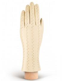 Перчатки женские кожаные без пальцев HP18 parchment (Eleganzza)