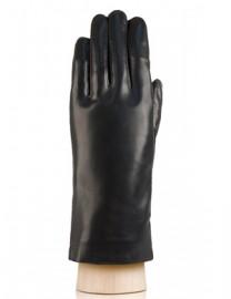 Перчатки женские натуральный мех HP020L black (Eleganzza)