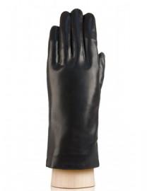 Перчатки женские натуральный мех HP030L black (Eleganzza)