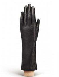 Перчатки женские натуральный мех (кролик) HP050 black (Eleganzza)
