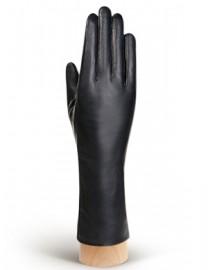 Перчатки женские натуральный мех (ягн) HP050 black (Eleganzza)