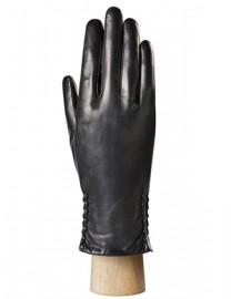 Перчатки женские натуральный мех (ягн) IS0424 black (Eleganzza)
