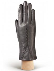 Перчатки женские натуральный мех (ягн) IS689 d.grey (Eleganzza)